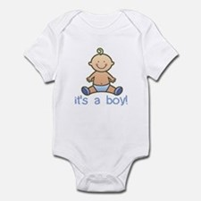 New Baby Boy Cartoon Onesie