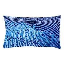Human fingerprint Pillow Case
