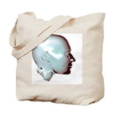 Human head Tote Bag