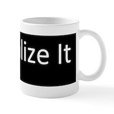 Legalize incandescent bulbs Mug