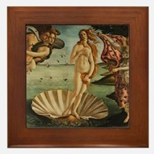 Botticelli Birth Of Venus Framed Tile