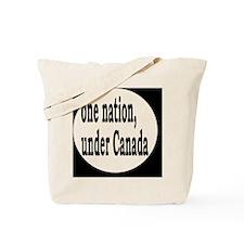 undercanadabutton Tote Bag