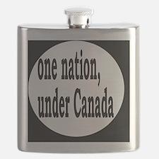 undercanadabutton Flask