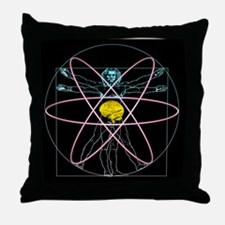 Human intelligence Throw Pillow