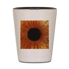 Human iris Shot Glass