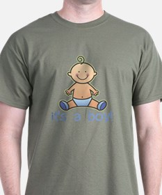 New Baby Boy Cartoon T-Shirt