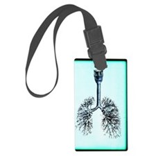 Human lungs Luggage Tag