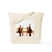 Human silhouettes Tote Bag