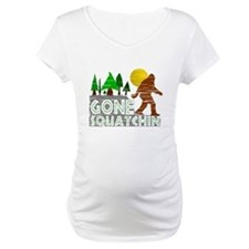 Gone Squatchin Vintage Retro Dis Shirt
