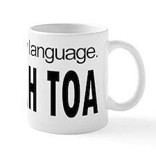 SOH CAH TOA _ learn a new language Small Mugs