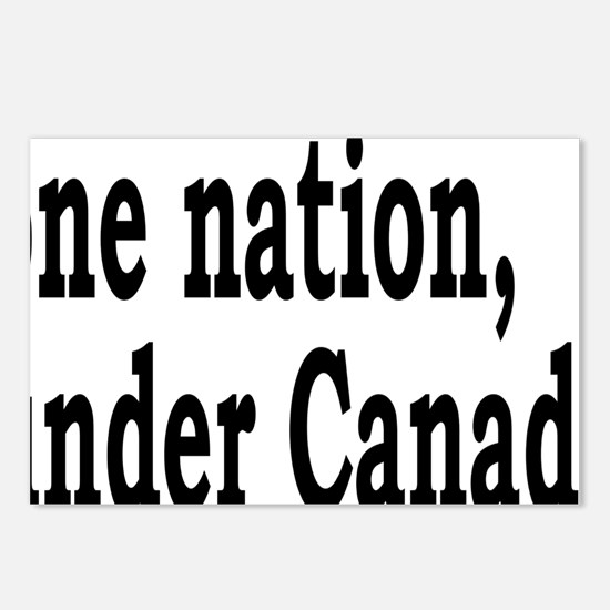 undercanadarectangle Postcards (Package of 8)