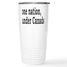 undercanadarectangle Travel Mug