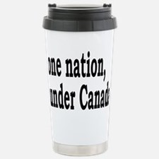 undercanadarectangle Travel Mug