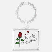 Be My Valentine Landscape Keychain