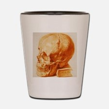 Human skull Shot Glass