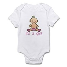New Baby Girl Cartoon Onesie