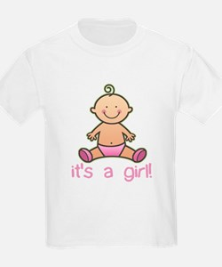 New Baby Girl Cartoon Kids T-Shirt