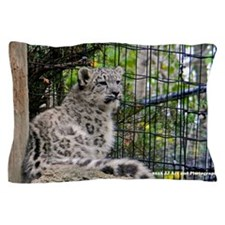 Baby Snow Leopard Pillow Case
