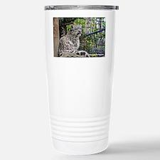 Baby Snow Leopard Travel Mug