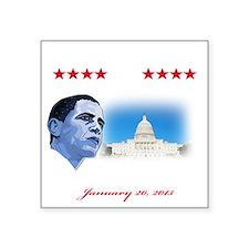 """57th Presidential inaugurat Square Sticker 3"""" x 3"""""""