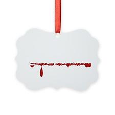 Physician Asst Zombie Ornament