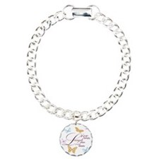Live, Laugh, Love Simply Charm Bracelet, One Charm