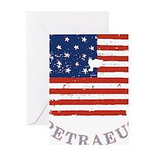 Old Glory Petraeus On Benghazi Greeting Card