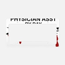 Physician Asst Zombie License Plate Holder