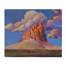 SHIPROCK, NEW MEXICO Throw Blanket