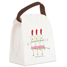 three French hens Canvas Lunch Bag