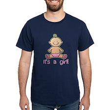 New Baby Girl Cartoon T-Shirt