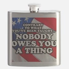Nobody Owes You a Thing Flask