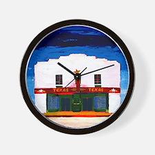 TEXAS THEATER Wall Clock