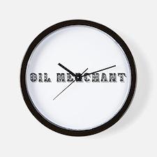 Oil Merchant Wall Clock