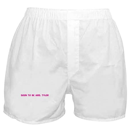 Soon to be Mrs. Tylor Boxer Shorts
