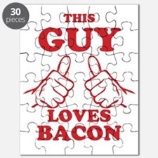This Guy Loves Bacon Puzzle