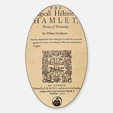 Hamlet Quarto iPad Decal