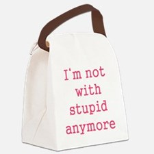 stupid Canvas Lunch Bag