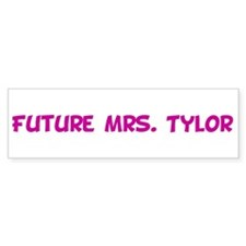 Future Mrs. Tylor Bumper Car Sticker