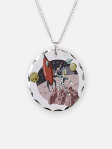 Spaceman2 Necklace