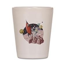 Spaceman2 Shot Glass