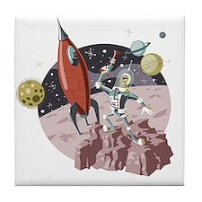 Spaceman2 Tile Coaster