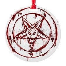 Bloody Baphomet Ornament