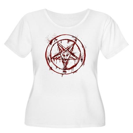 Bloody Baphom Women's Plus Size Scoop Neck T-Shirt