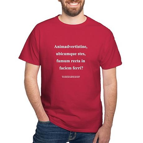 Latin Phrase Dark T-Shirt