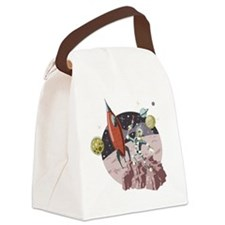 Spaceman1 Canvas Lunch Bag