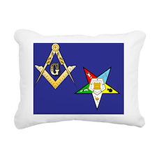 Masonic Eastern STar Rectangular Canvas Pillow