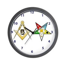 Masonic - Eastern Star modern clock Wall Clock