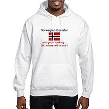 Gd Lkg Norwegian Bestefar Hoodie
