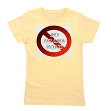 No Drama Zone Girl's Tee